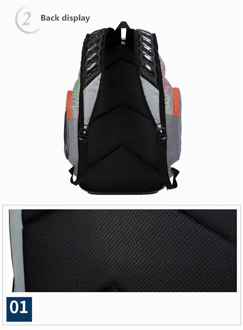Ombro esportes ginásio sacos de basquete mochila