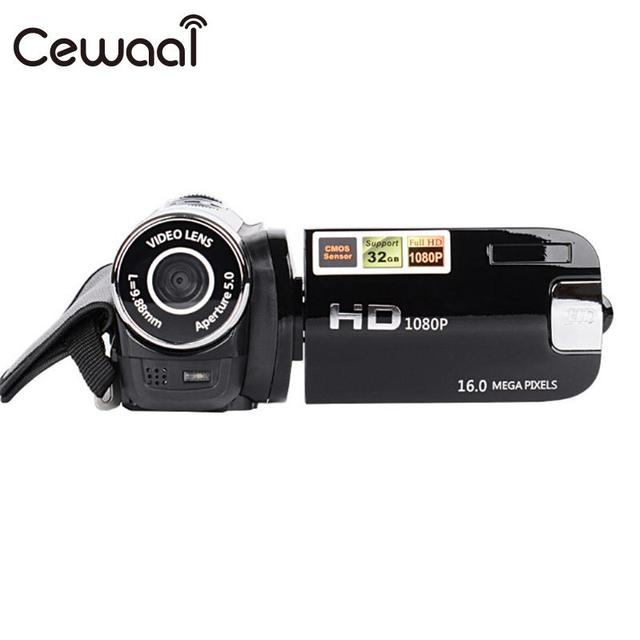 Cewaal USB Capacitive Touch Display Shooting DV Camera Photography Digital Camcorder Small Recorder Video Camera