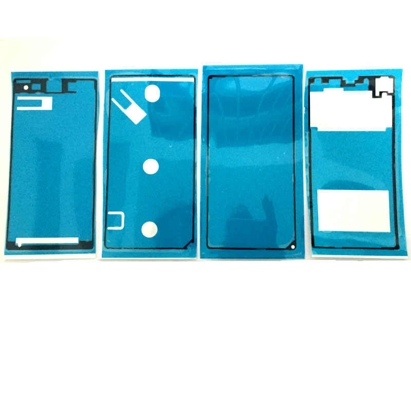 Adhésif d'origine pour plaque LCD + cadre moyen et vitre arrière pour Sony Xperia Z1 L39H ruban adhésif adhésif Compact