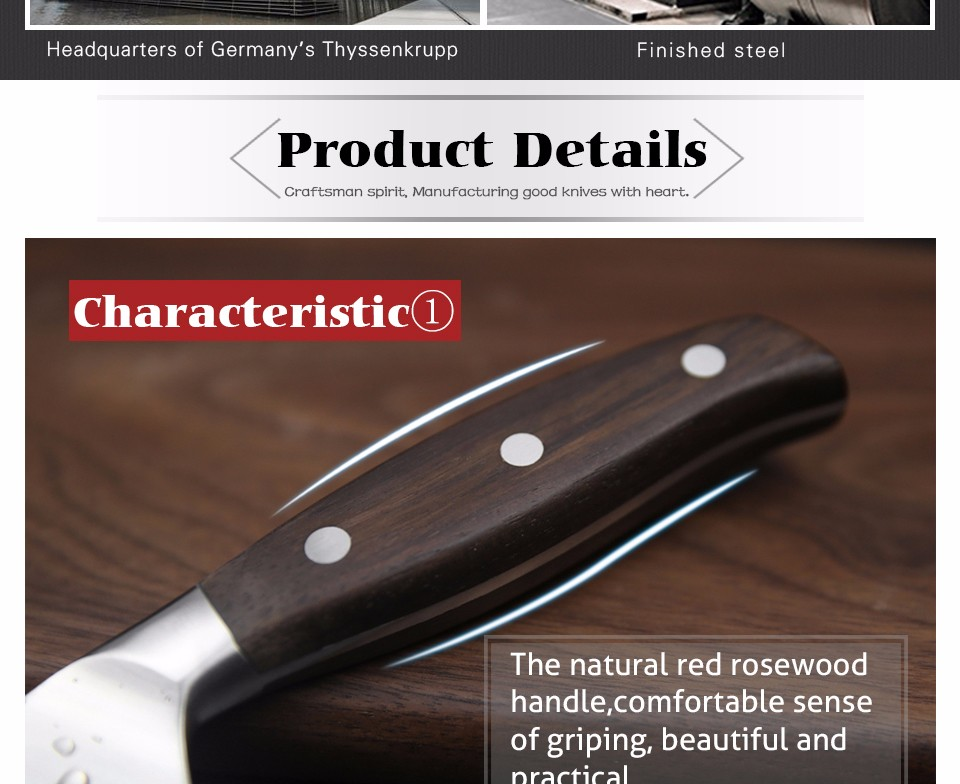 HTB1cPQYMVXXXXbIapXXq6xXFXXXo - XINZUO Kitchen Tools 6 PCs Kitchen Knife Set Utility Cleaver Chef Bread Knives Stainless Steel