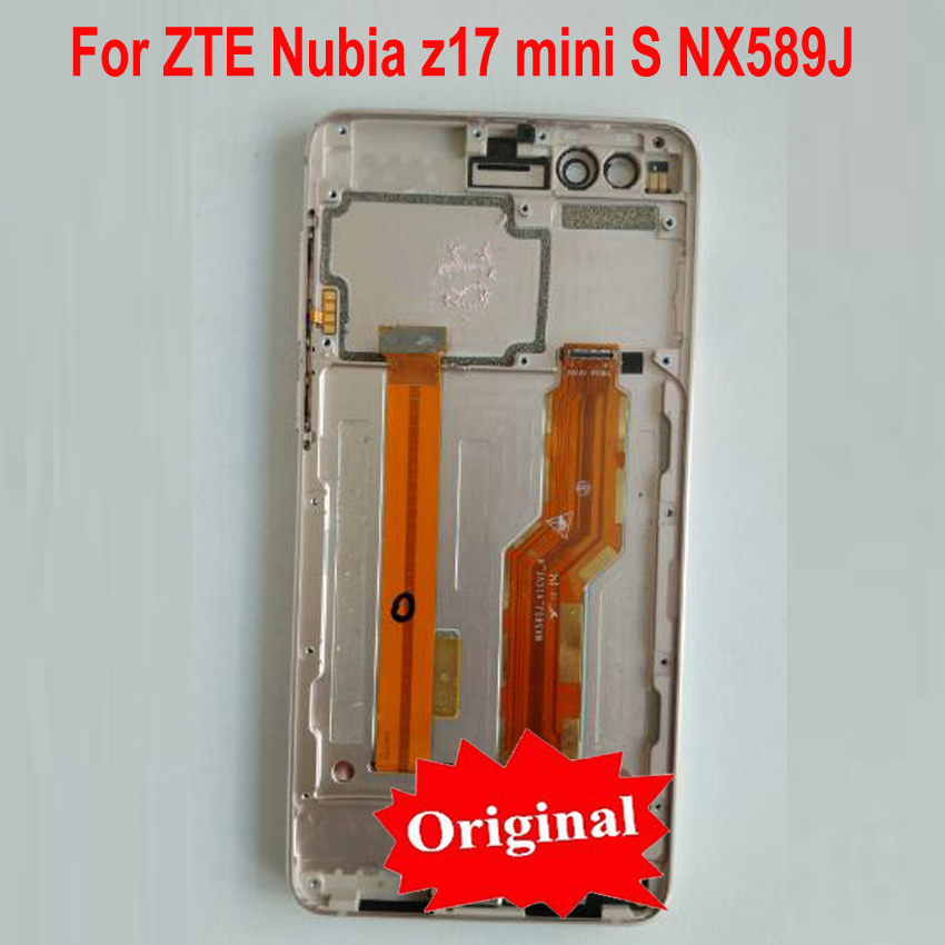 100% Original Working Sensor LCD Display Touch Screen Digitizer Assembly+ Frame For ZTE Nubia Z17 miniS z17 mini S NX589J NX589H100% Original Working Sensor LCD Display Touch Screen Digitizer Assembly+ Frame For ZTE Nubia Z17 miniS z17 mini S NX589J NX589H