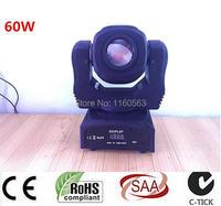 60W Mini Led Spot Moving Head Light 60W Gobo Moving Heads Lights Super Bright LED