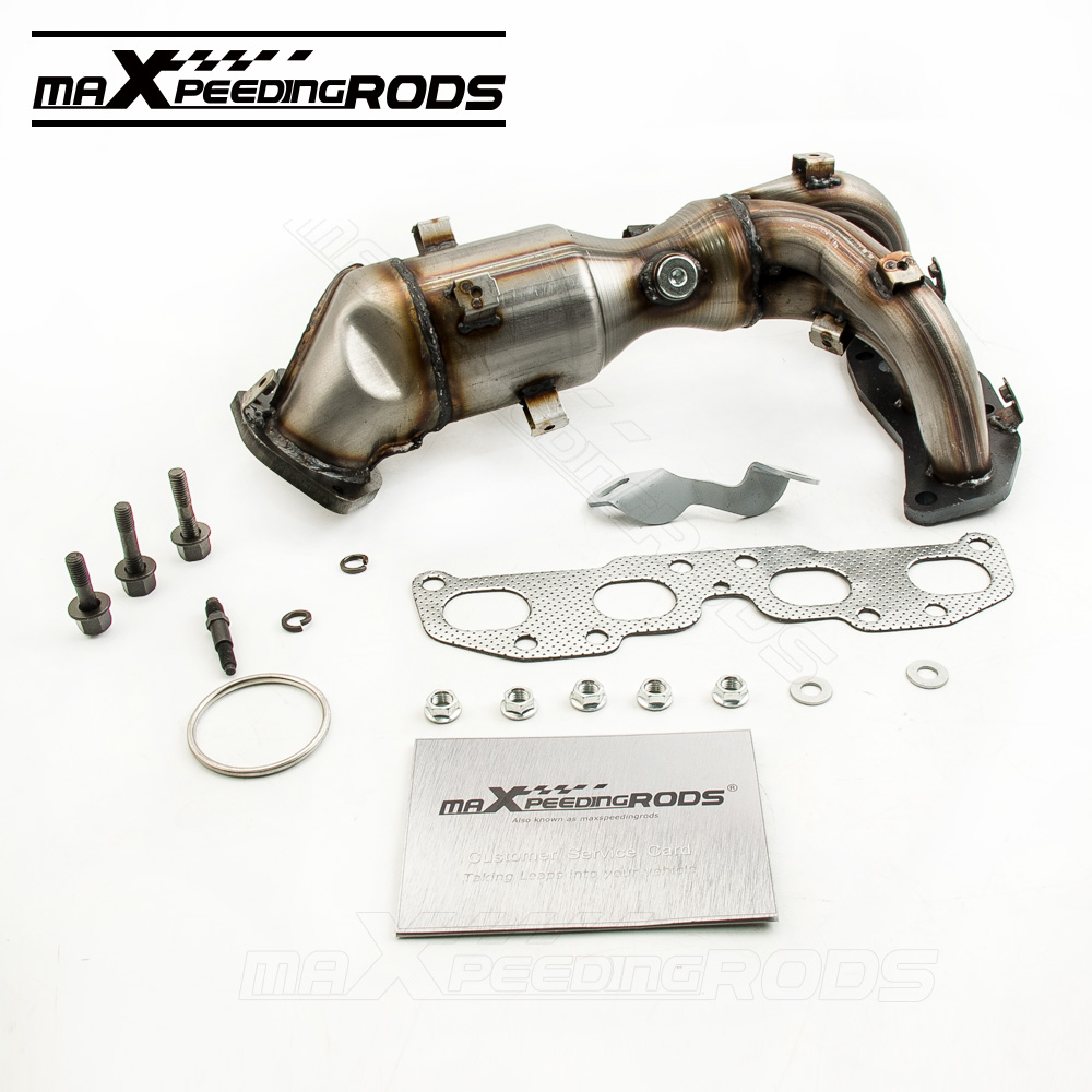 Exhaust manifold with catalytic converter for nissan altima 2 5l 140e2ja02e 2007 2013 china