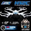 Jjrc h12c headless modo 2.4g 4ch 6 eixo rc quadcopter 360 graus capotamento ufo com câmera 5.0mp hd