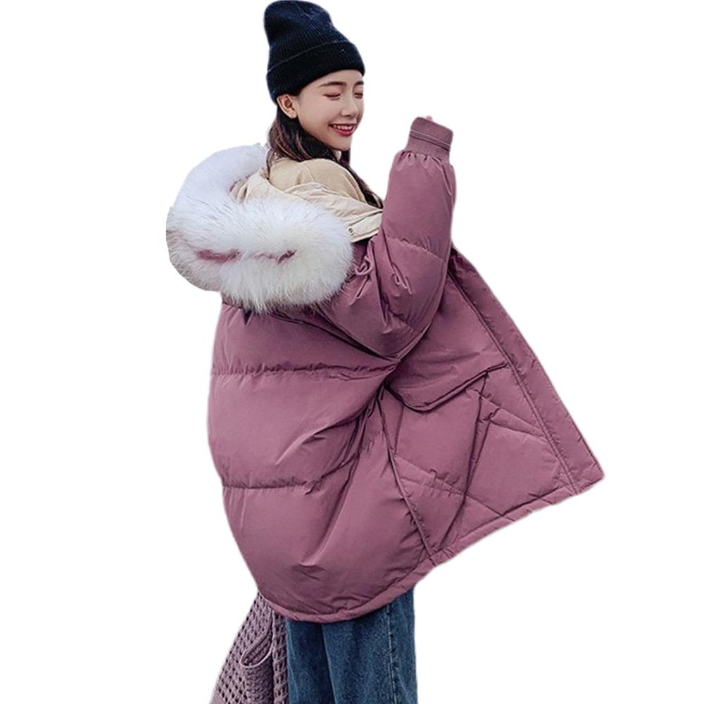 Winter Down Cotton Long Jacket   Parka   Coat Down jacket new 2019 brief paragraph down jacket coat 817