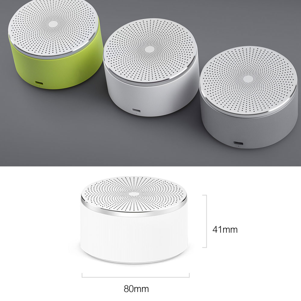 Xiaomi Mi Bluetooth Speaker Stereo Wireless Mini Portable Bluetooth Speakers Music MP3 Player Small Steel Round Speaker 100% Original  (13)