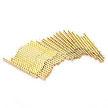 Convenient And Durable Spring Test Probe PA160-Q1 Metal Brass 100 / PCS Sleeve Length 24.5mm