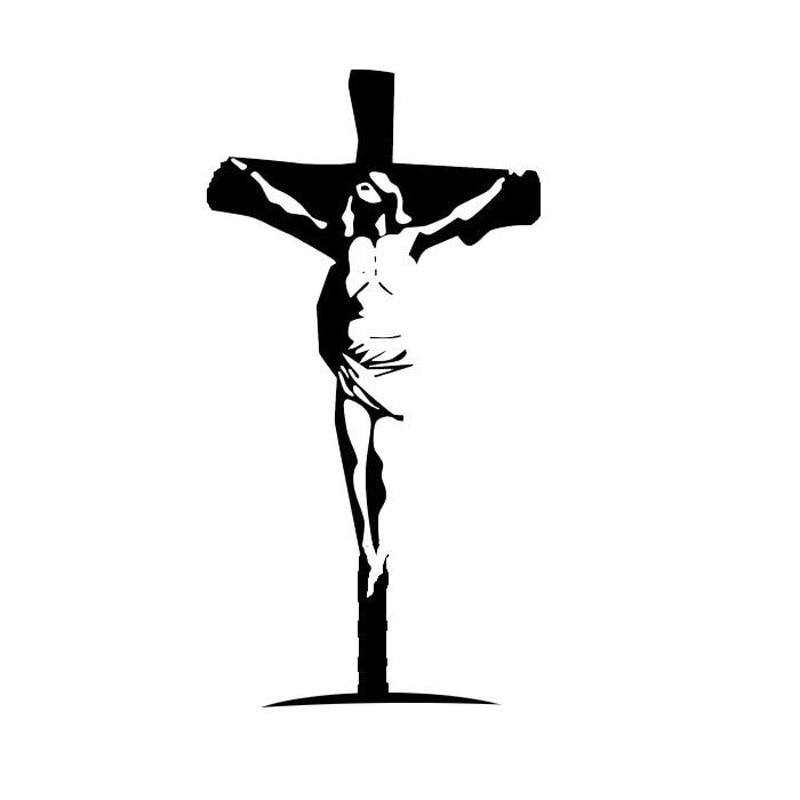 Jesus Christ Savior GOD Bible Lord Cross Car Truck Window Vinyl Decal Sticker