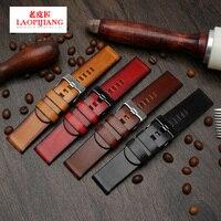 Handmade Fit diesel DZ4323 DZ4283 DZ1657 DZ4309 watch band 22mm 24mm 26mm duty quality vintage genuine leather for men bracelet