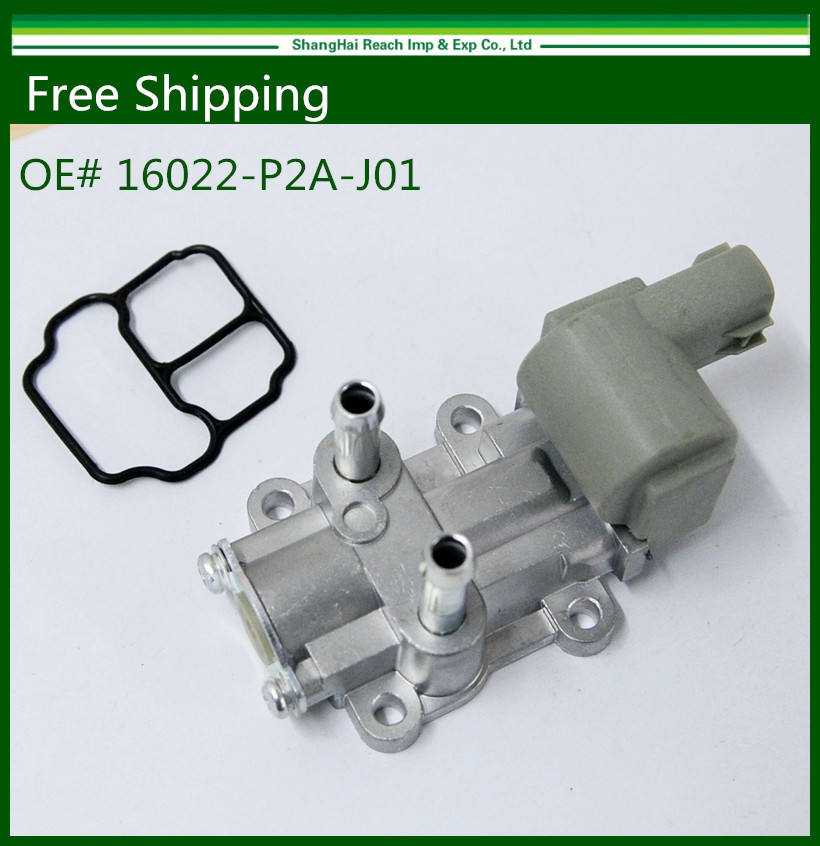 Free shipping New Idle <font><b>Air</b></font> Control <font><b>Valve</b></font> For Honda Acura Civic Del Sol 1.6L 16022-P8A-A01