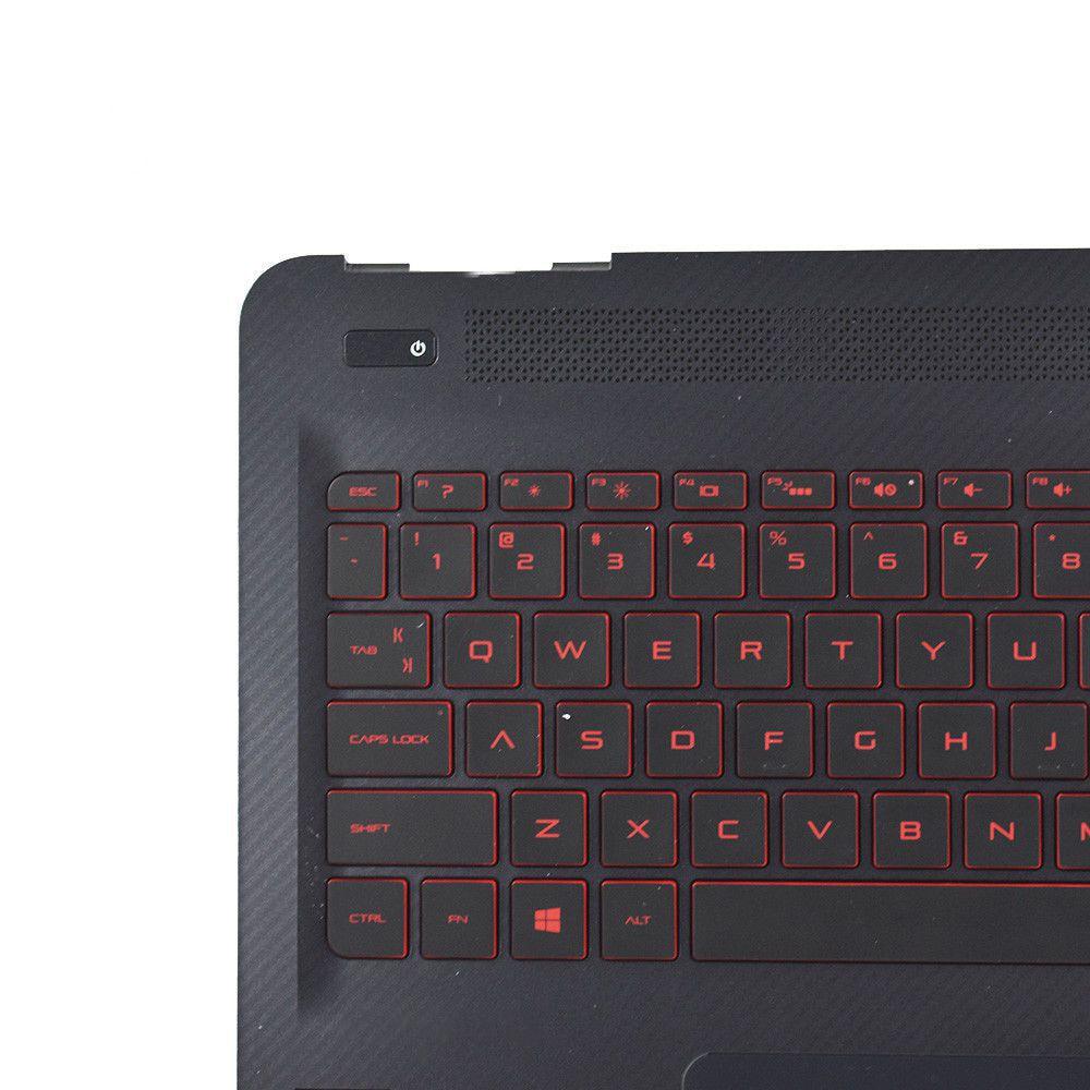 New HP OMEN 15-AX 15-AX020CA 15-AX100 15-AX200 Palmrest With Backlit Keyboard