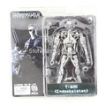 "Free Shipping NECA Terminator 2 Judgment Day T-800 Endoskeleton PVC Action Figure Robot Toys 7"" 18CM Model Toy #ZJZ003"