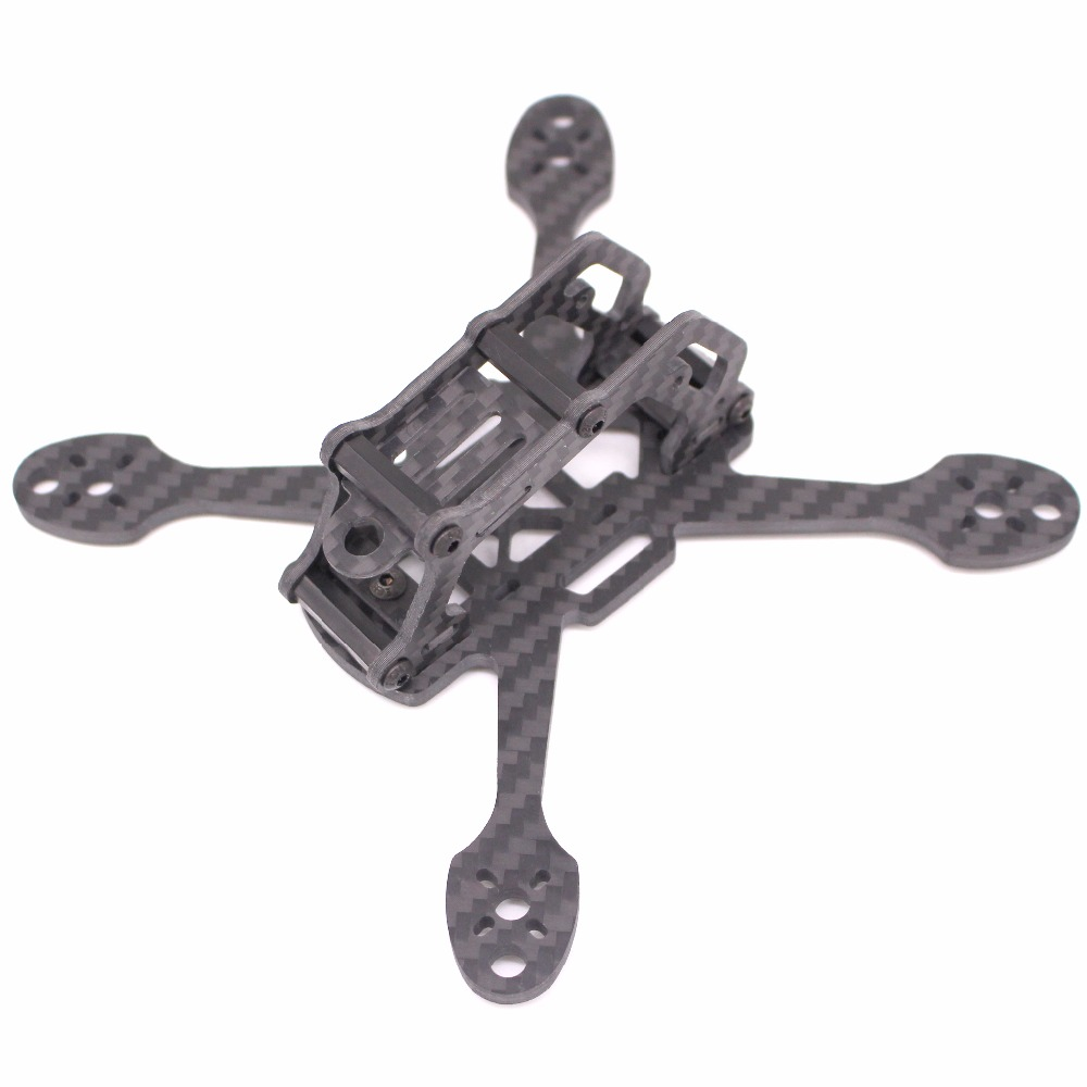 PUDA XBL 140 3 Mini FPV Racing Quadcopter Drone Frame kit 4mm Arm For GEPRC Sparrow GEP MX3 IFlight RACER iX3 rc across racer kit support kk mk mwc diy drone fpv f450 quadcopter multicopter frame with red white black frame arm mini quad