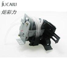 Jucaili için yazıcı mürekkep pompası Mimaki JV3 JV4 JV5 JV33 JV22 Roland FJ540 FJ740 Mutoh RJ8000 RJ8100 su taban/solvent pompası