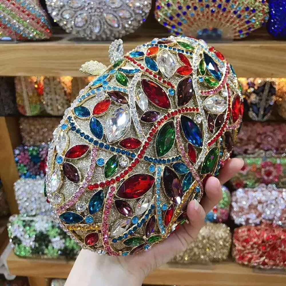 XIYUAN женские красочные серебряные блестящие клатчи вечерние клатчи женские роскошные сумочки-кошельки свадебные сумки через плечо