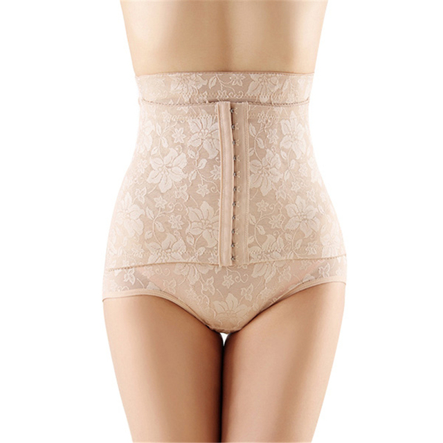 ad041444fa97c Sexy Women Body Shapers Shapewear Waist Cincher Trainer Shorts Hip Lift  Adjustable Shapers