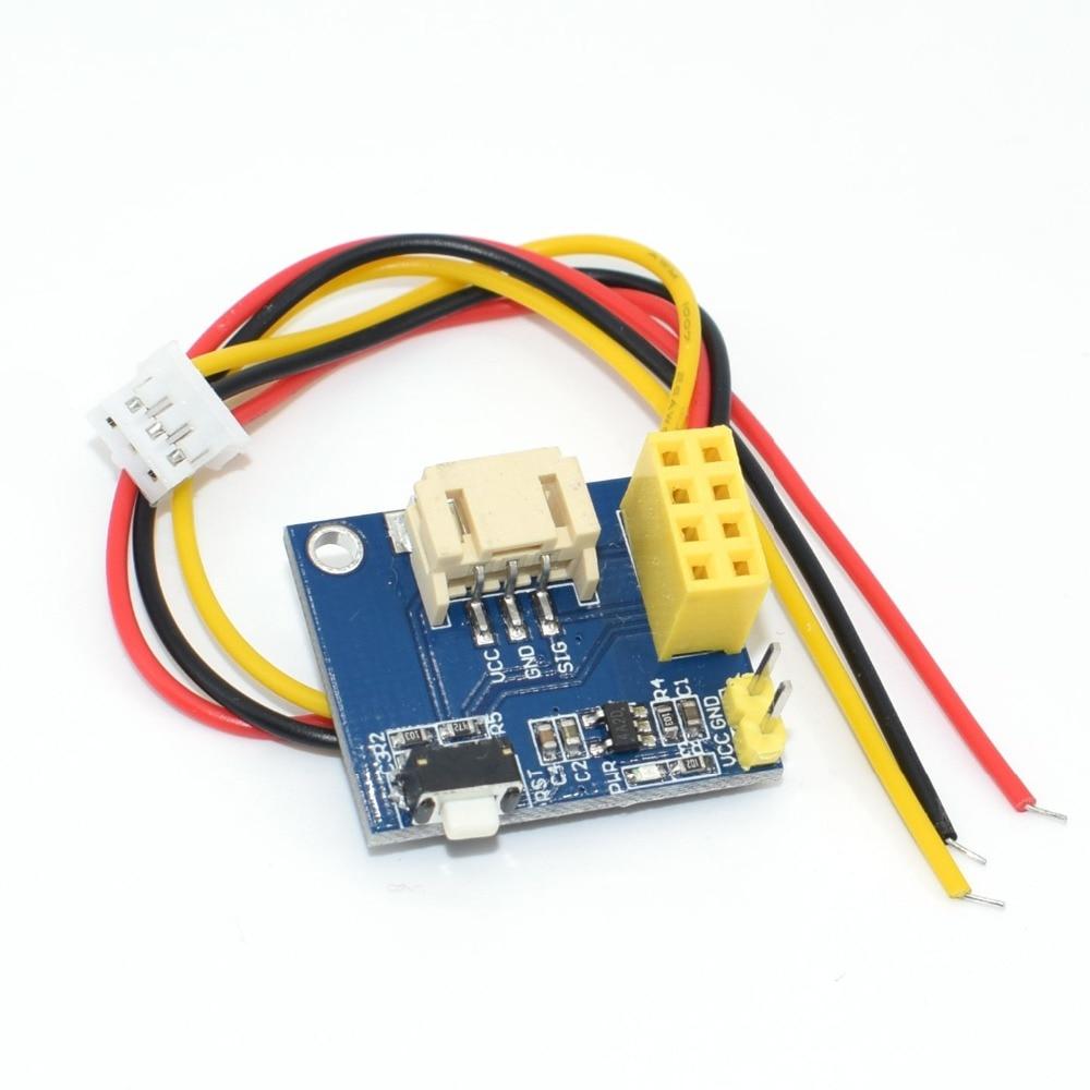 ESP8266 ESP 01 ESP 01S WS2812 RGB LED Controller Module for IDE WS2812 Light Ring Smart