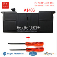 Genuine Cell A1406 Battery For Apple MacBook Air 11 A1370 A1465 Battery 2011 2012 Year