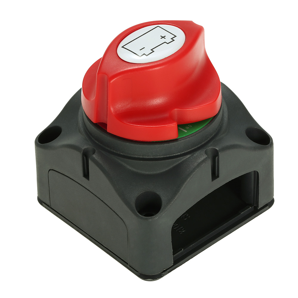 Car RV Marine Boat Battery Selector Isolator Disconnect Rotary Switch Cut On/Off heavy duty 60v 600a marine dual battery selector switch for boat rv semi motor yacht boats red abd black page 6