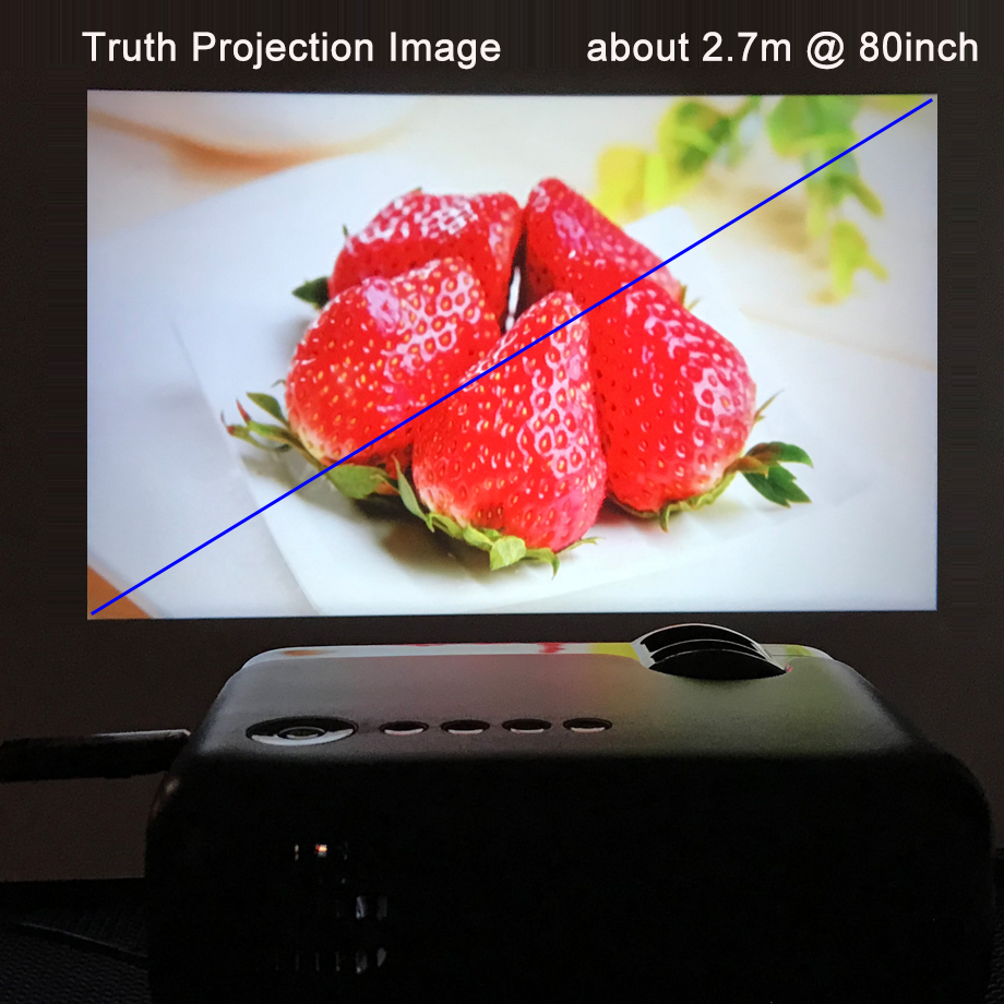 Image 3 - Smartldea AC3 HD 720P Mini Projector,Wired Sync display Optional,Support 1280x800 2400lumens Multimedia LED 3D Pocket Proyector-in LCD Projectors from Consumer Electronics