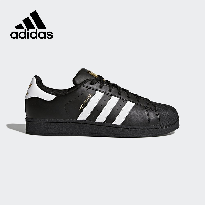 Intersport Official New Arrival 2017 Adidas Originals Superstar Unisex Skateboarding Shoes Sneakers Classique Shoes Hard-Wearing adidas originals superstar foundation c shoe little kid