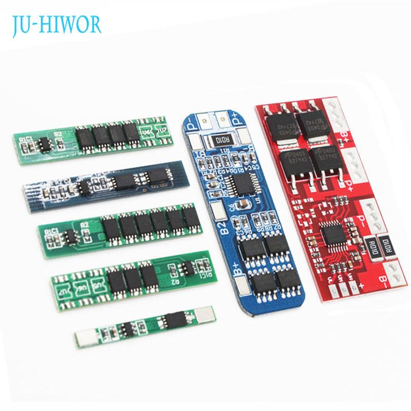Lithium Battery Charging Protection 18650 BMS Board Module Charger 2/3/4 Series Connect 4.2/3.7/7.8/8.4/12V High Current Protect