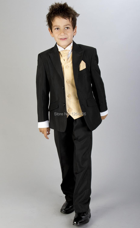 Fashion Boy Suit Custom Baby Boys Gentleman Wedding Formal Party Tuxedo  Kids Formal Suits aacab6eccd5f