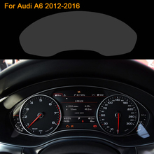 QCBXYYXH Car Styling Car Dashboard Paint Protective PET Film For Audi A6 2012 2016 Light transmitting