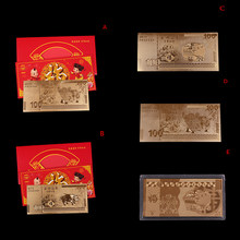 2019 Fu Pig Collection New Year GiftCommemorativeGold Silver Plated Coin Year Of Pig Delivers Money Coins(China)