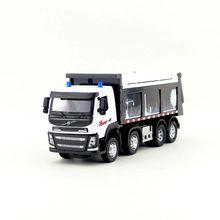 1:50 Масштаб/литая модель/автомобиль-самосвал Volvo автомобиль/Инженерная игрушка/звук и светильник/образовательная коллекция для детей/подарок/Ограниченная серия