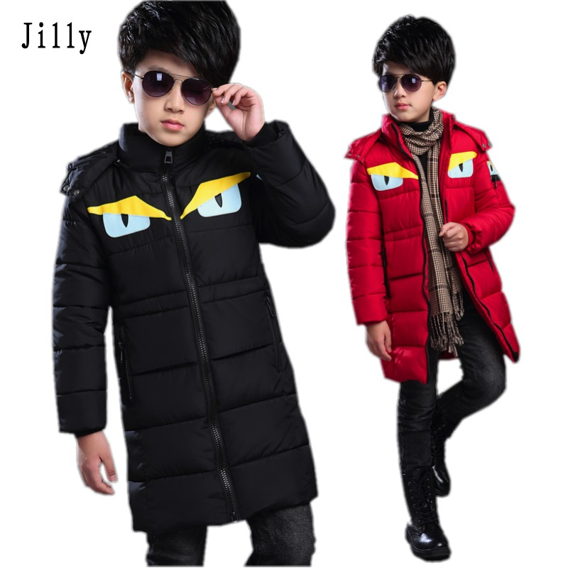 2016 winter children boys down jacket coat fashion hooded thick solid warm coat boy winter clothing outwear for 4-13T 3 colors 2016 short paragraph winter down thick jacket fashion girls boys cotton hooded coat fashion hildren s jacket warm outwear 16a12