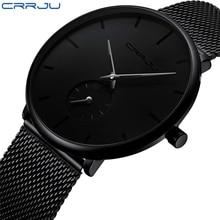 CRRJU2150 Fashion men watches Top brand Causal Ultra-thin Me