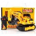 Brinquedos das Crianças do bebê Grande Engenharia de Controle Remoto Caminhão Escavadeira Bulldozer Carro Menino Brinquedos Carro Elétrico Crianças Brinquedo Presentes