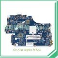 NEW75 LA-5911P MBWVE02001 MB.WVE02.001 For Acer aspire 5552g Laptop Motherboard DDR3 ATI HD 6470M