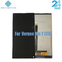 For 100% Original Vernee Mix 2 LCD Display With Touch Screen Digitizer Assembly Replacement 6.0 inch 2160x1080P MIX 2 Phone LCD