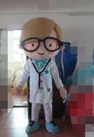 2016 Factory Direct high quality Sale cartoon customized the Doctor Mascot Costume Party Cosplay Fancy Dress Costume