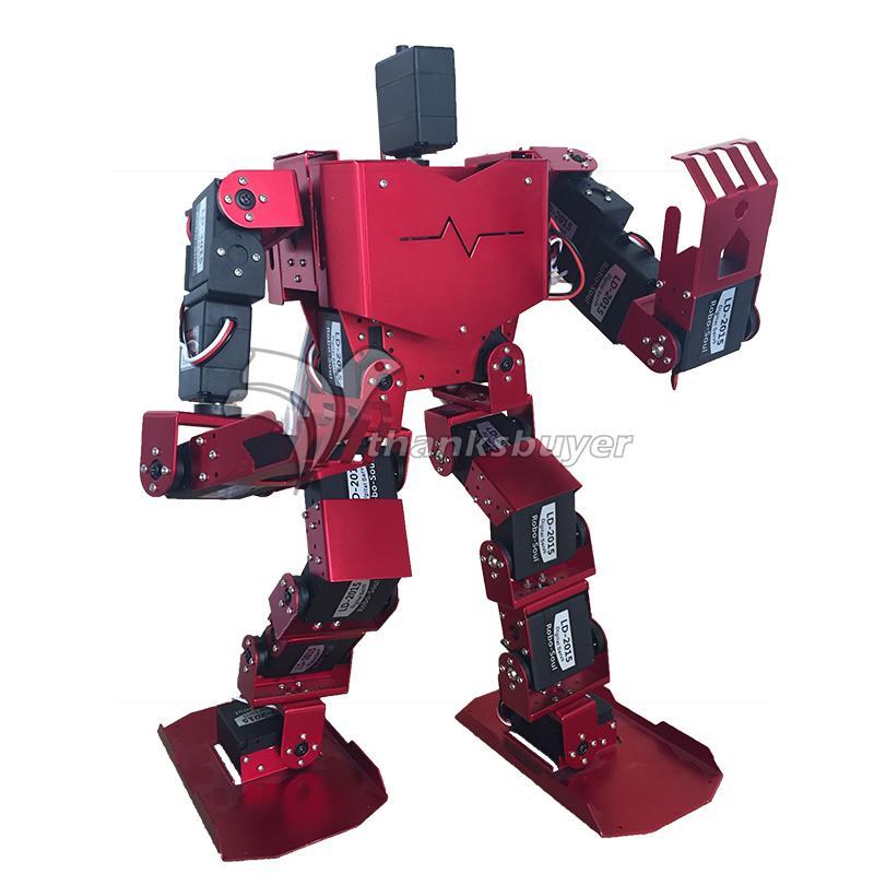 19DOF Humanoid Robot-Soul H3.0-19S Contest Dance Robot Bipedal Robot Platform with Servos for Arduino soldier king 16dof smart humanoid robot frame kits contest dance biped robotics with servos for diy unassembled