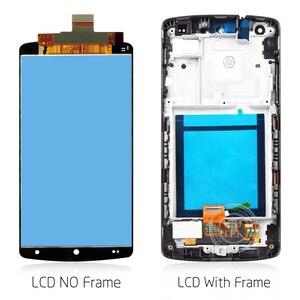 """Image 4 - Original 4.95 """"IPS für LG Nexus 5 LCD Display Touchscreen Digitizer Montage mit Rahmen Nexus5 D820 D821 Bildschirm ersatz"""