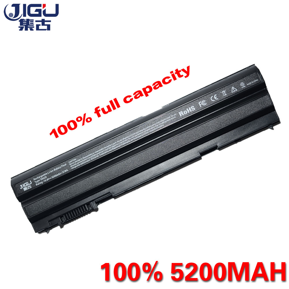 JIGU 5200MAH Laptop Battery For Dell Latitude E6420 E6430 E6520 E6530 E5420 E5430 E5520 E5530 T54FJ