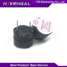 New Arrival 10pcs 3v Active Buzzer Magnetic Long Continous Beep Tone 12*9.5mm