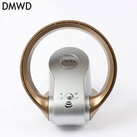 DMWD Household COOL BLADELESS FAN Electrical Ultra quiet No Blade Fan Home Appliance electric mini Fan with Smart Remote contr