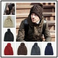 New Winter Solid Color Hat Unisex Plain Warm Soft Skullies Beanies Knit Hats Knitted Gorro Caps Hats For Men Women R124