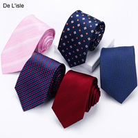 100 Silk Classic Neck Tie With Gift Box Luxury Gift For Man Business Formal Dress Casual