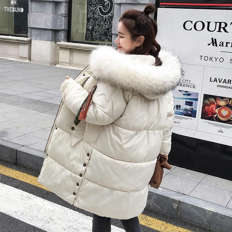 Noir Capuchon gris Manteaux Parka Grande Coton Longue D'hiver Chaud Feminino Casaco Veste Fourrure 2018 En Rembourré blanc À Épaissir bourgogne Femmes La 3xl Plus M Taille qxgBHPHp