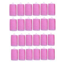 12Pcs / Lot Sponge Hair Styling Curler Roller Home DIY Big Wave Hair Curl Maker Көбік Роликті Табиғи Сұлулық Шаш Құралы