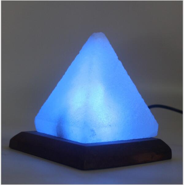 Himalayan Pyramid Salt Lamp 220V , Night Lamp For Bedroom ,car,Can cleaning air