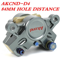 AKCND-D4 Motorcycle Scooters 84mm brake Calipers With 2*34mm Piston For yamaha Honda pcx155 yzf-r1 gsxr1000 nmax155 bwsr aerox