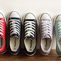 2017 Clássicos sapatos de lona plana sapatos femininos sapatos casuais para as mulheres sapatos da moda 6 cores 053