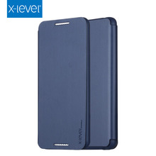 X-Level Business Style PU Leather Flip Phone Case for  HTC 816 Luxury Stand Case Cover