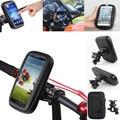 "5.5"" Universal Bicycle Motocycle Bike Phone Holder Waterproof Bag Case Handlebar Mount for iphone 6s plus xiaomi redmi note 3"